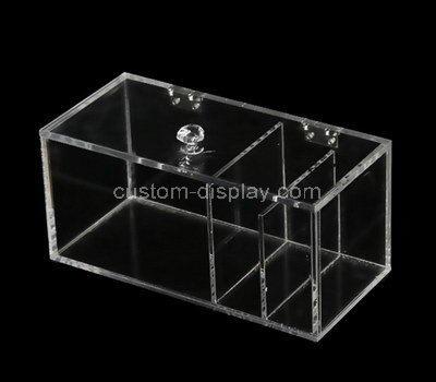 perspex 3 compartment box