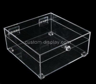 plexiglass clear display boxes