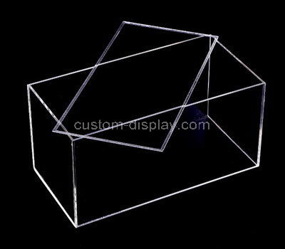 acrylic clear display case