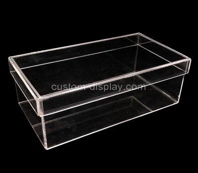clear plastic storage boxes with lids