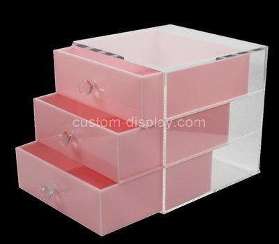 3 drawer plastic storage unit