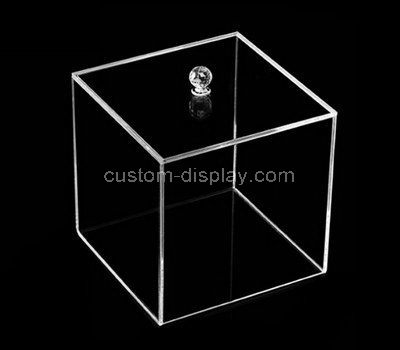 clear lucite display cases