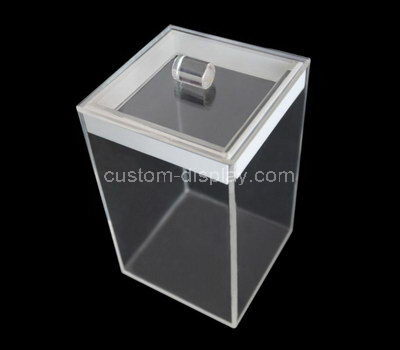 clear acrylic display box with lid