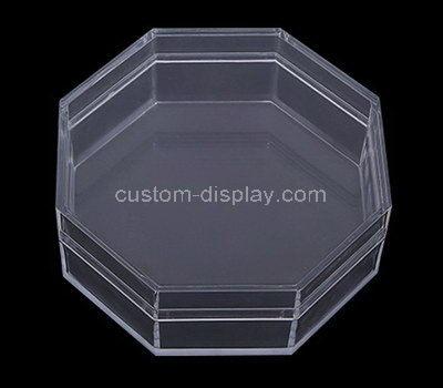 acrylic octagon shaped box