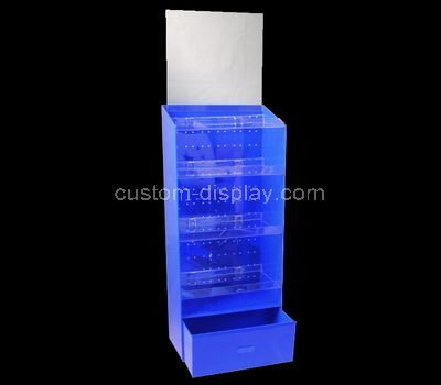 acrylic tall display cabinet