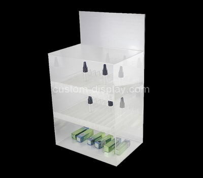 lucite display cabinet showcase