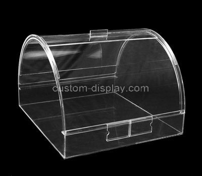 clear plexiglass container