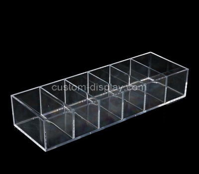 acrylic 6 compartment box