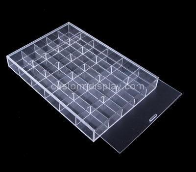 lucite 30 compartment storage box