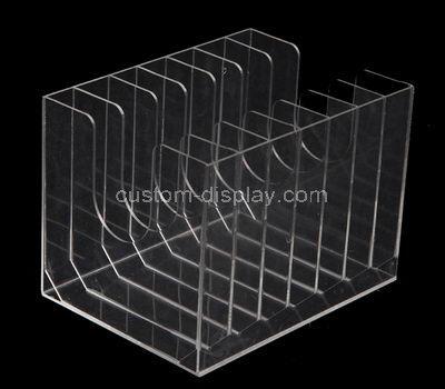 lucite 8 compartment box