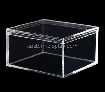 clear lucite storage box