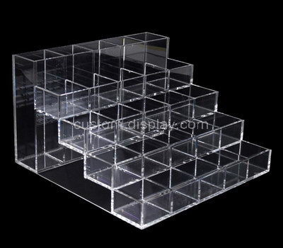 clear acrylic multi compartment storage box