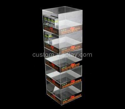 acrylic slim display cabinet
