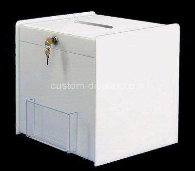 acrylic fundraising boxes