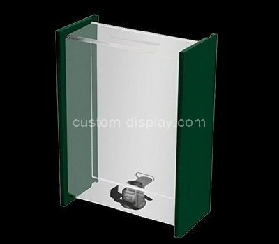 acrylic money donation box