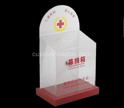 acrylic church donation box