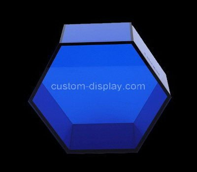 acrylic hexagon storage box