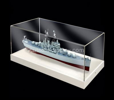 model ship display case