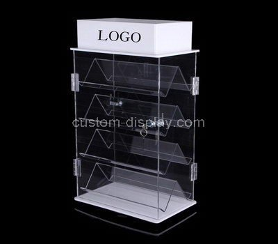 acrylic display cabinet with doors