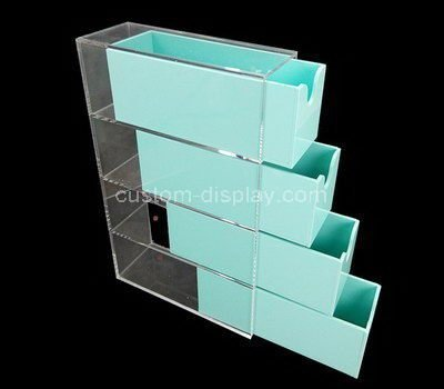 acrylic multi drawer box