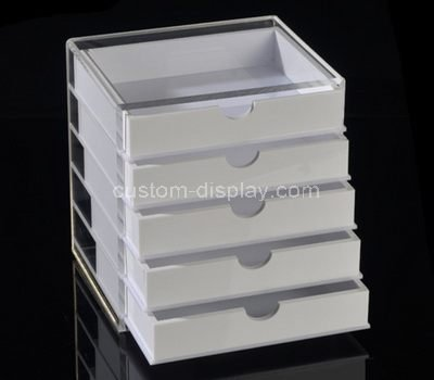lucite desk drawer box