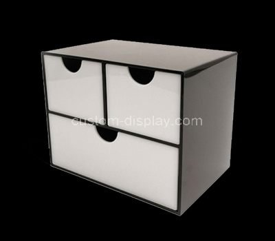 lucite 3 drawer box