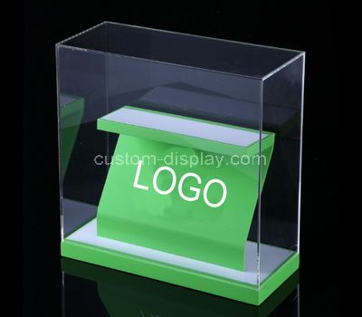 shallow display case