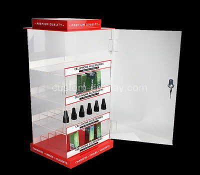 acrylic product display cabinet