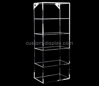 acrylic tall narrow display cabinet