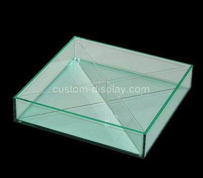 Clear acrylic 4 grid box