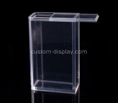 Clear acrylic cigarette box