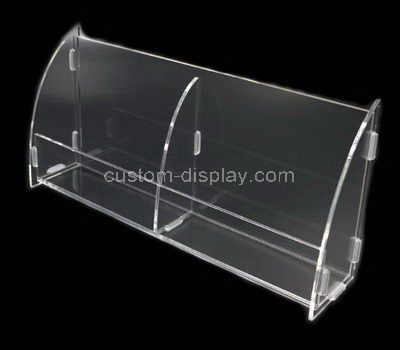 Clear acrylic 2 grids display box