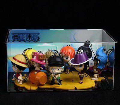 Clear acrylic toys display case
