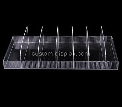 7 grids clear acrylic display holder