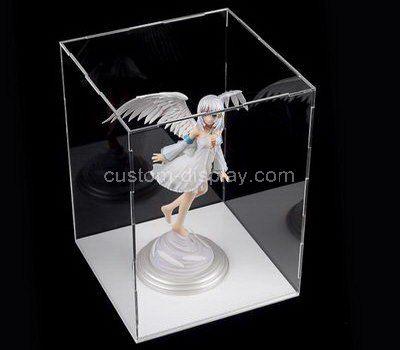 Clear acrylic angel display case
