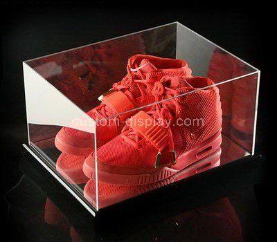 Clear acrylic shoe storage box