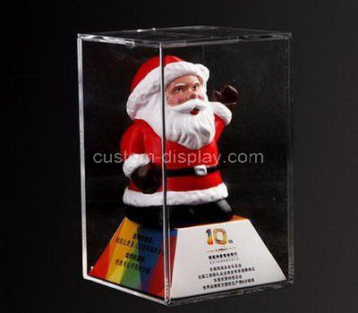 Clear acrylic Santa Claus storage case