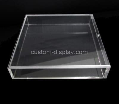 Clear acrylic slipcases