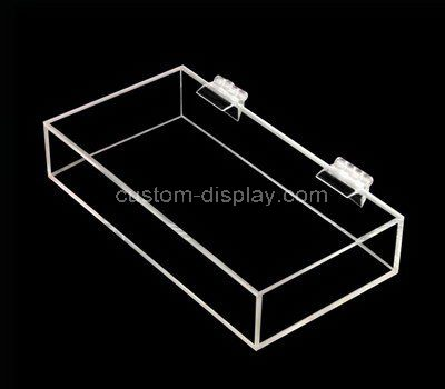 Small clear acrylic box with lid