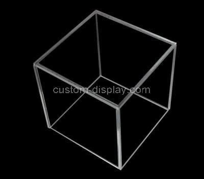Small clear acrylic square box