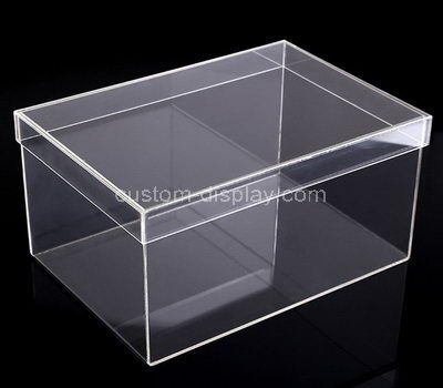 Clear acrylic storage boxes with lid
