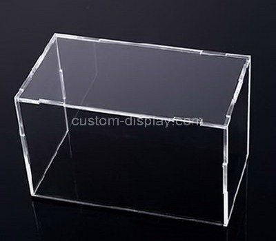 Transparent acrylic display cases