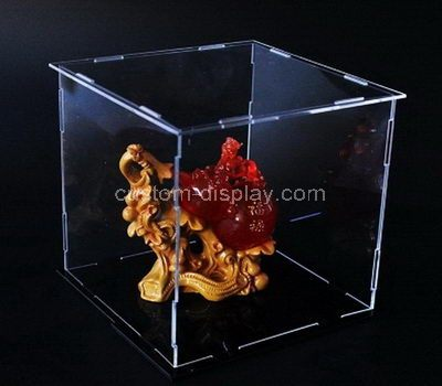 Custom clear acrylic storage boxes