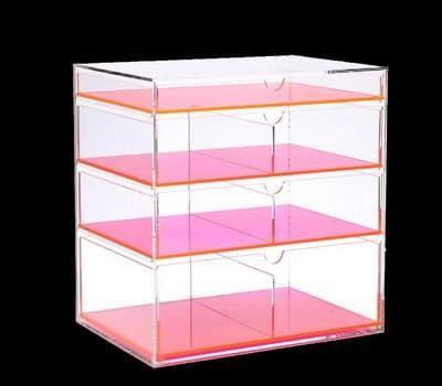 Custom acrylic 4 drawers boxes