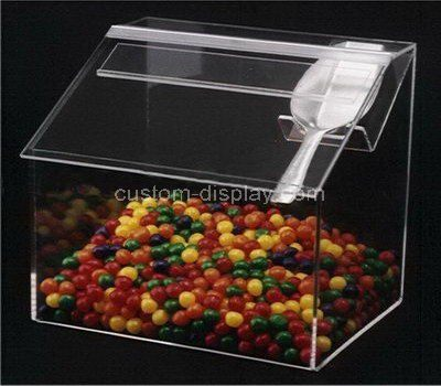 Custom counter top clear acrylic candy box