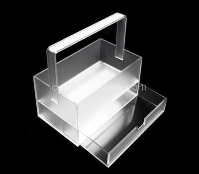 Custom acrylic drawer box with handle