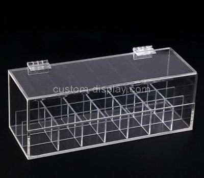 Custom acrylic multi grids storage box