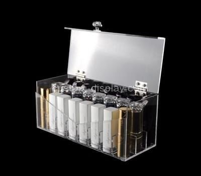 Custom clear acrylic cosmetic organiser box