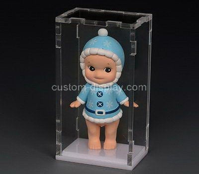 Custom small clear acrylic figure display box