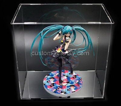 Custom clear acrylic figure display cases